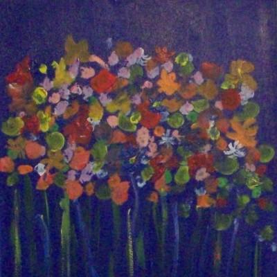 Der Blumenstrauß (im Familienbesitz)