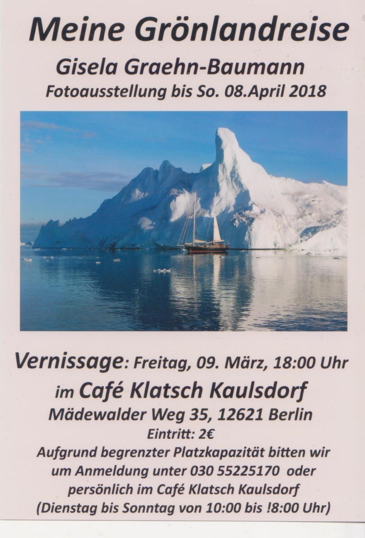 Flyer: Gisela Graehn-Baumann
